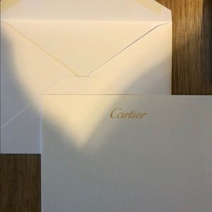 Cartier Other - Cartier Bag and cards